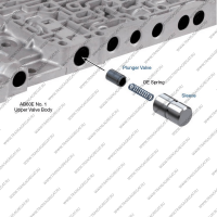 Клапан контроля блокировки гидротрансформатора