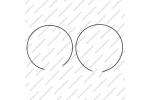 Комплект уплотнительных колец на шкивы (2шт., толщина 2.6mm)