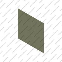 Фрикционный лист (356x356x1.15, HTS, с клеевым слоем)