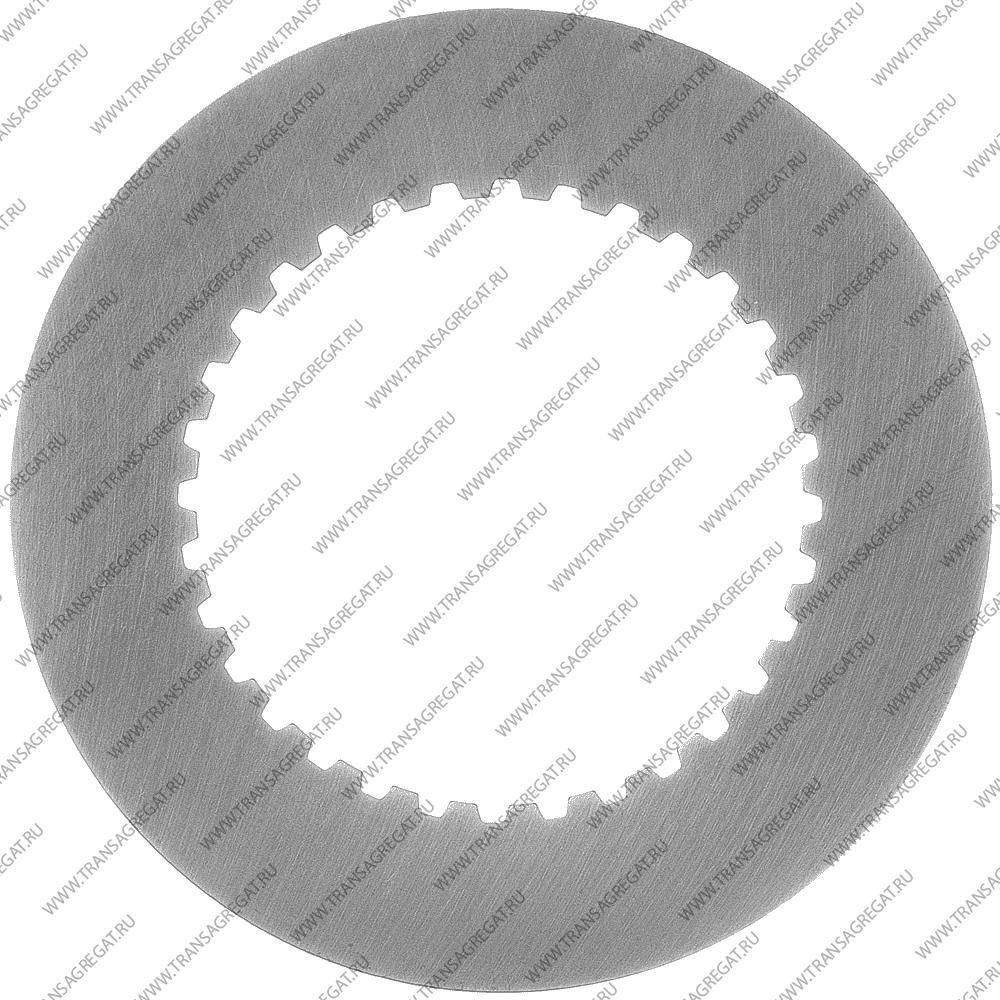 Фрикционный диск (135x1.5x32T) 4th (односторонний, внутренние зубья, Volvo)
