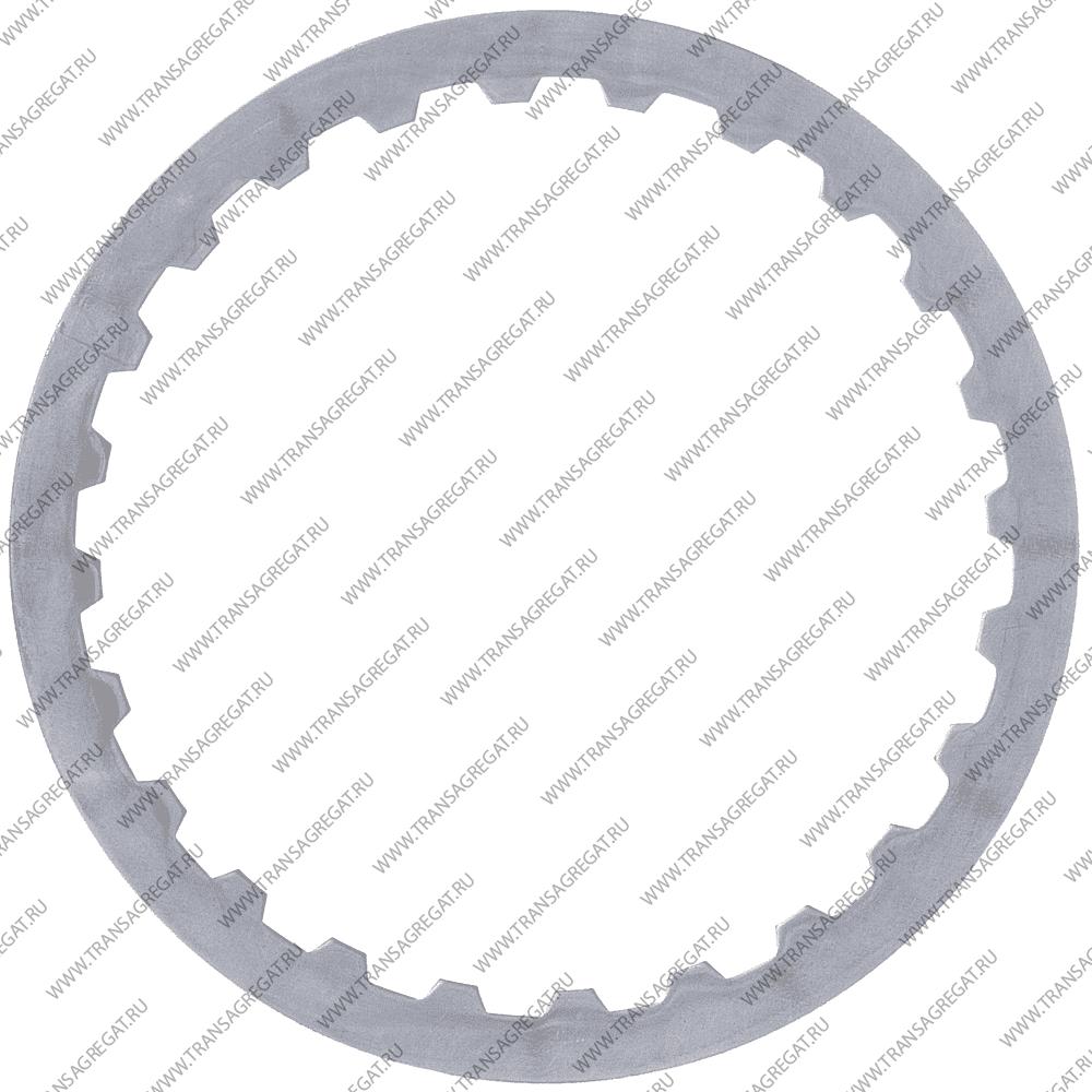 Фрикционный диск (130x1.6x24T) 2nd (односторонний, внутренние зубья, 99-01г.)