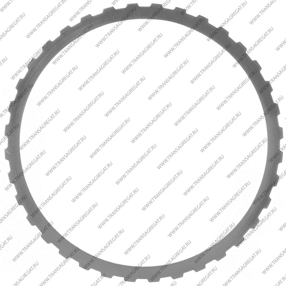 Фрикционный диск (164x1.6x36T) Reverse, Overdrive (односторонний, наружные зубья)