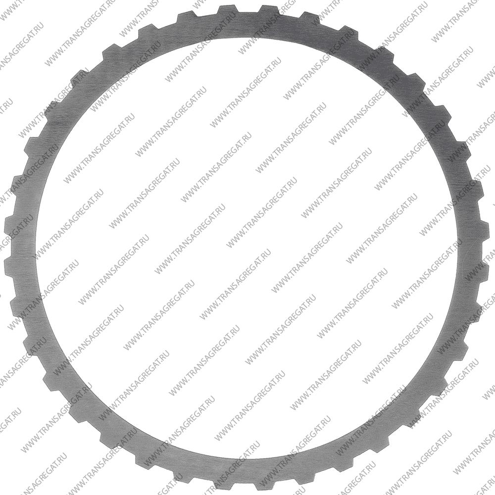 Фрикционный диск (155x1.6x36T) Direct, 2nd Coast (односторонний, наружные зубья*)