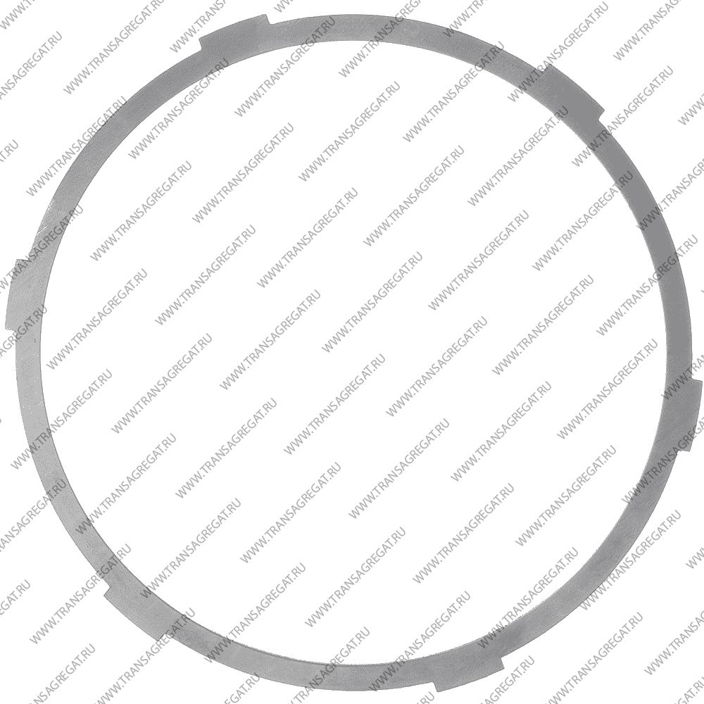 Фрикционный диск (163x1.6x6T) 2nd Coast (односторонний, наружные зубья, 02-up)